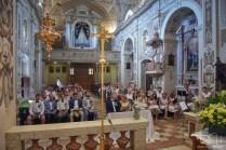 Euer Hochzeits Fotograf aus Nuernberg in Italien am Gardasee in der wunderschoenen Chiesa San Vincenzo.
