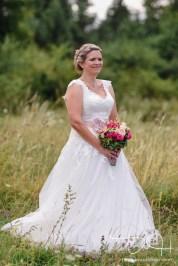 Die Braut fotografiert vom Hochzeitsfotografen aus Nuernberg.