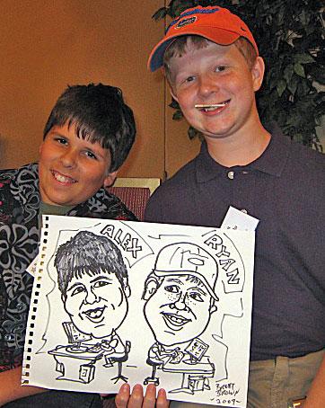 Alex and Ryan