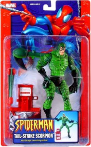 scorpion figure package