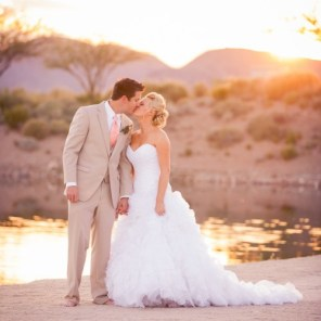 Beach Las Vegas Wedding for Alycia & Deen Captured by Moxie Studio