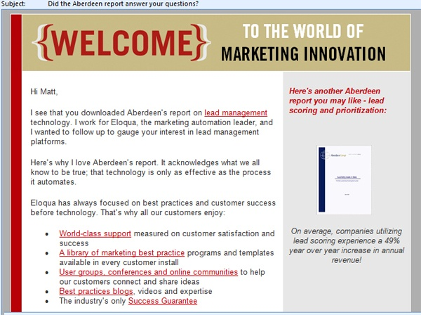 Sales Follow-up Email Share This Example With Your Team