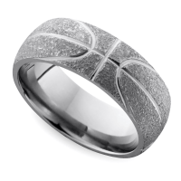 Cool Men's Wedding Rings for Sports Fanatics