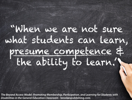 Presuming Competence What It Is, What It Looks Like Inclusion Lab