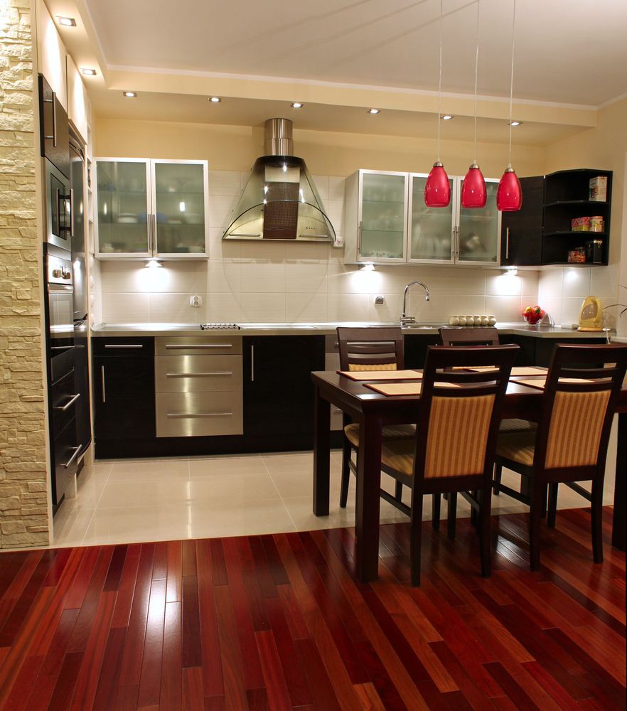 hardwood flooring product profile what is jatoba wood floors in kitchen jatoba brazilian cherry flooring kitchen