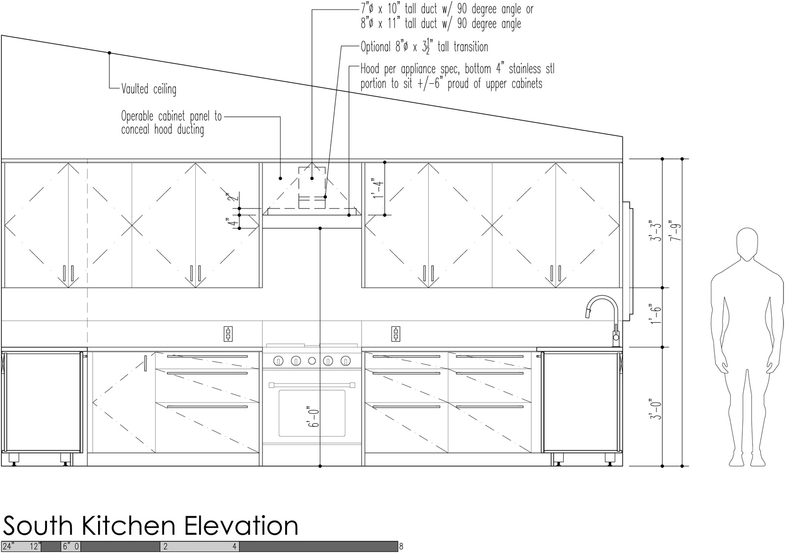 Kitchen Cabinet Elevation Design Strategies For Kitchen Hood Venting Build Blog