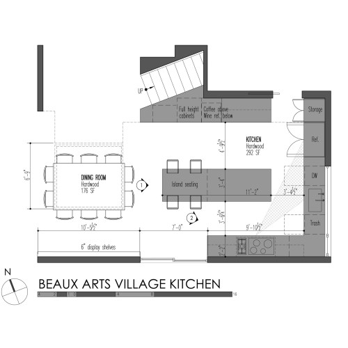 Medium Crop Of Standard Kitchen Layouts