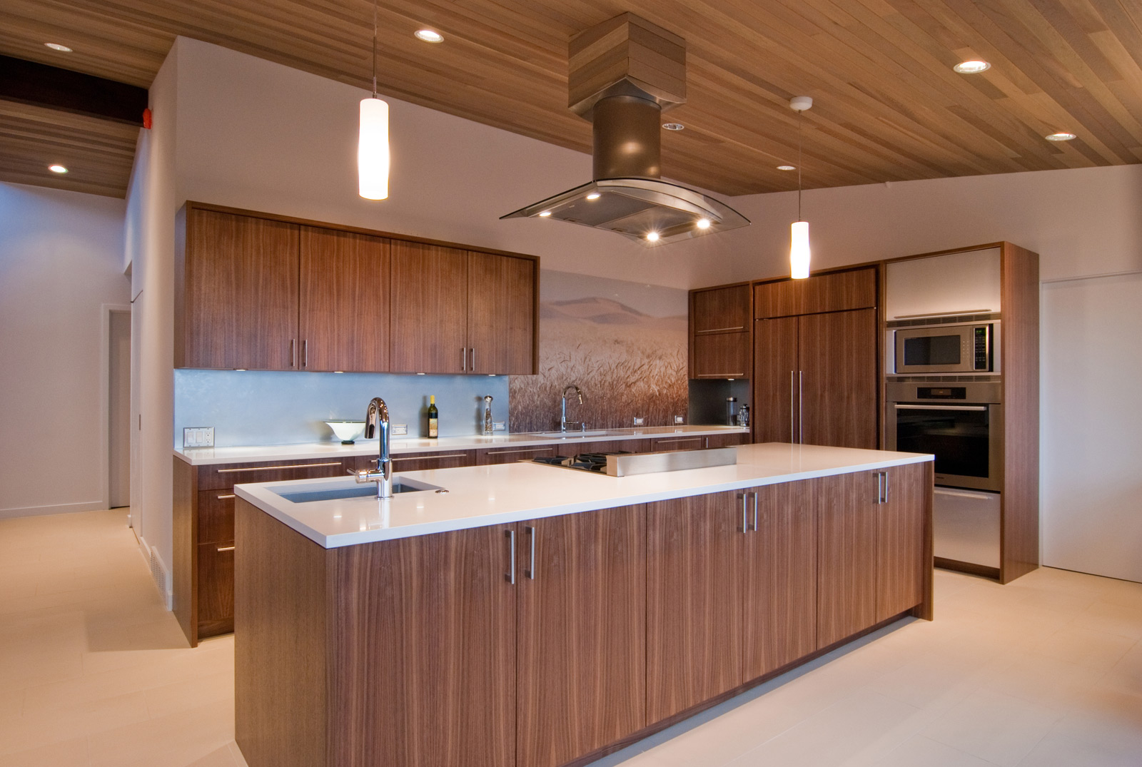 5 modern kitchen designs principles walnut kitchen cabinets BUILD LLC West Seattle Kitchen 2