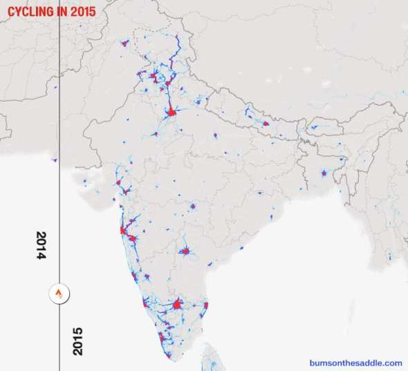 Cycling in India 2015