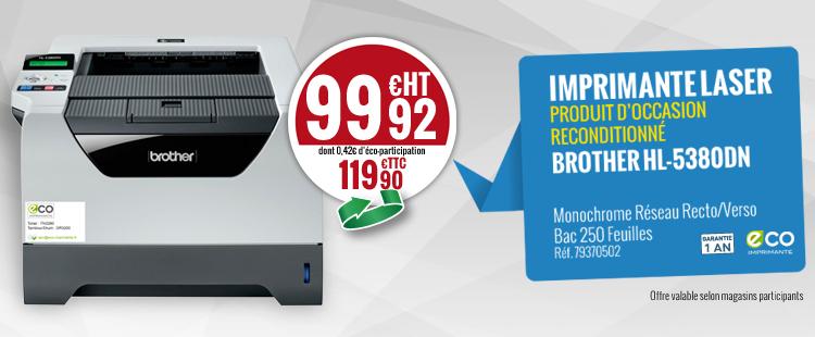 ECO IMPRIMANTE cre le march des imprimantes reconditionnes Le