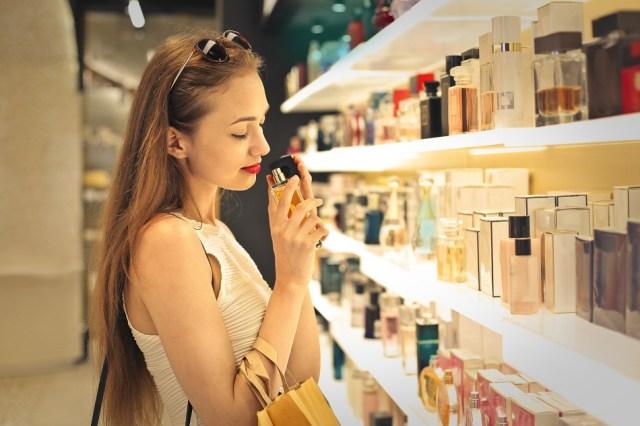 Perfumes en el aeropuerto