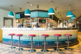 Minehead's new Diner - the bar