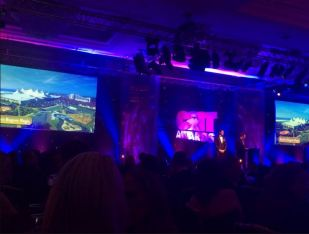 Stage at C&IT Awards