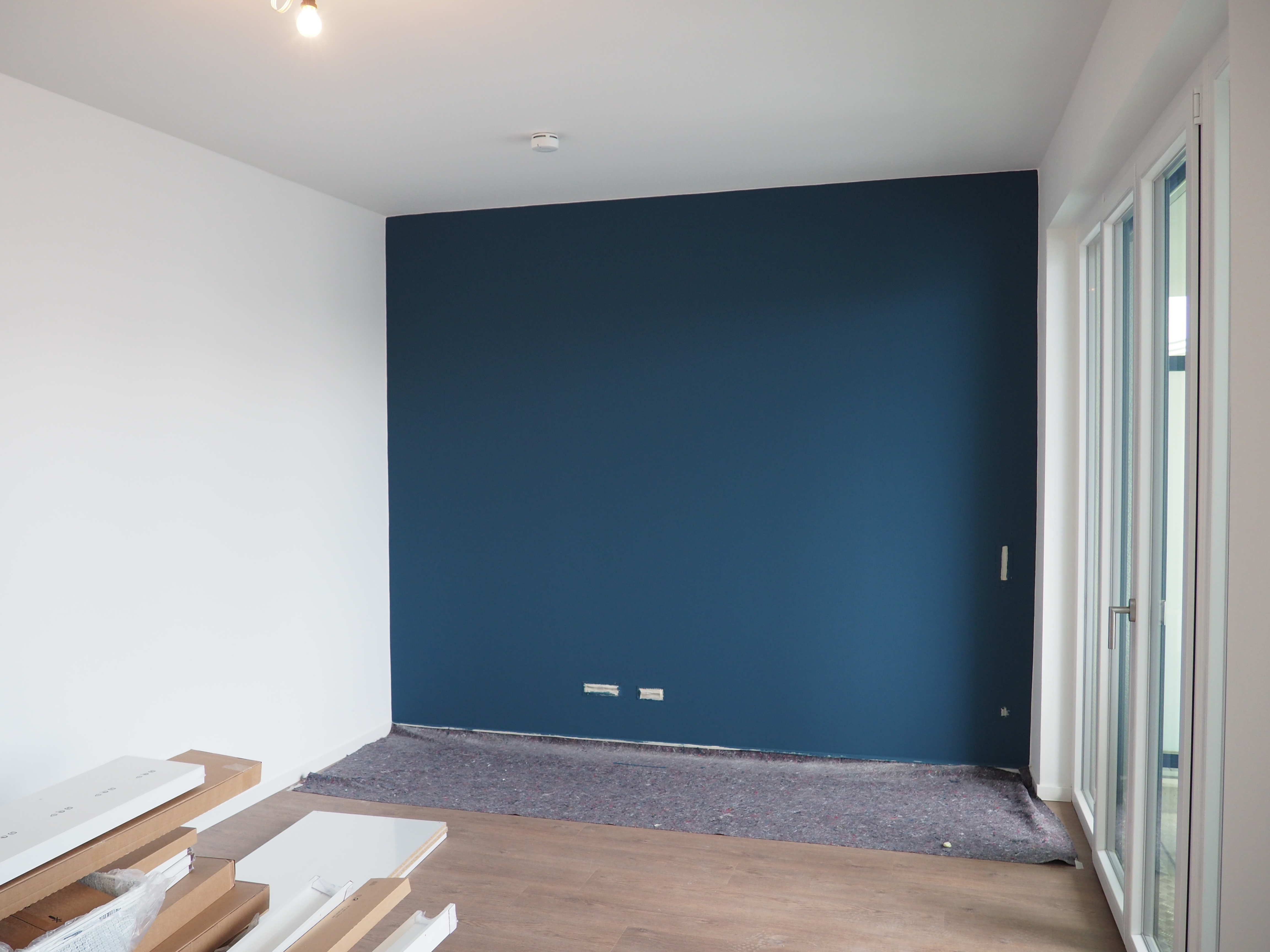 Küche Wand Dunkelblau Die Kuschelzone Nimmt Form An By Andy For Better Moods