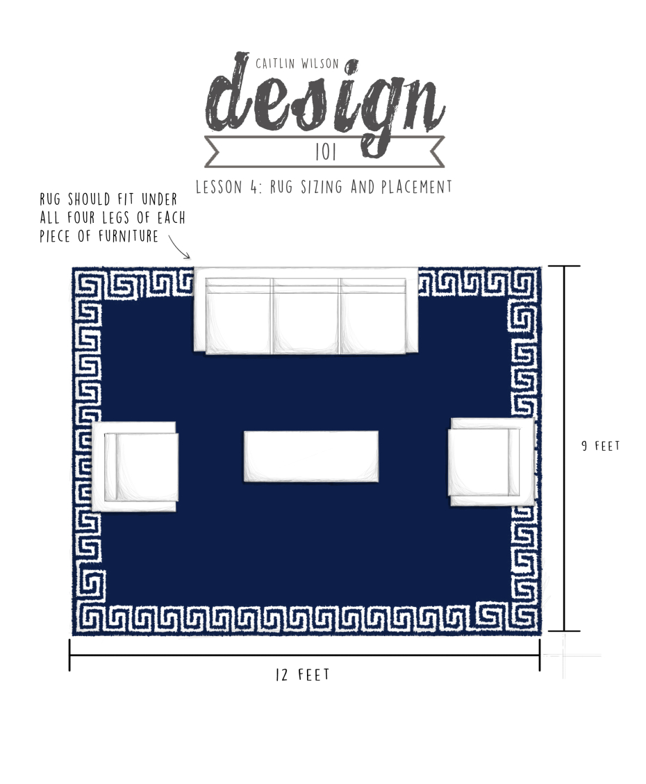 Rug Sizing Caitlin Wilson Cw Design 101 Lesson 4 Rug Sizing And Placement