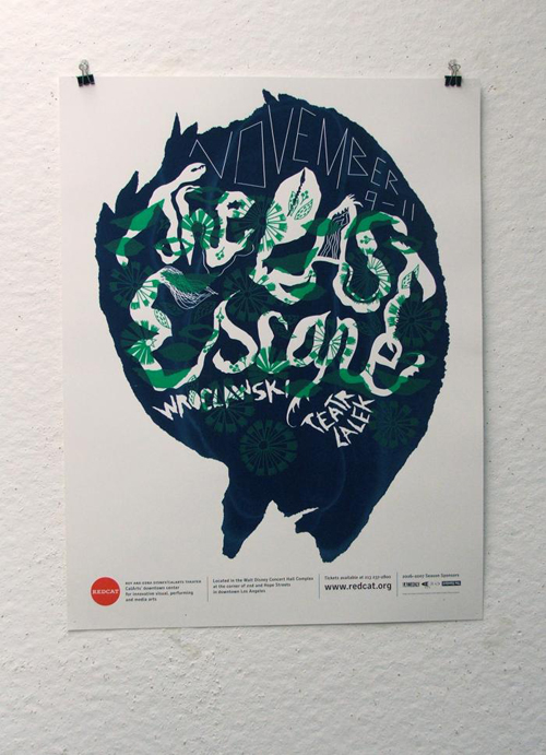 Online Archive Features 200 REDCAT Poster Designs