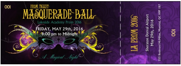 Event of the Week Lakeside Academy Masquerade Ball