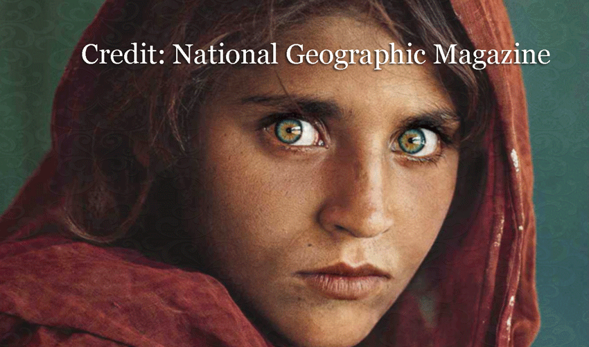 Afghan Girl Eyes Wallpaper You Can Have Blue Eyes Permanently Without Surgery