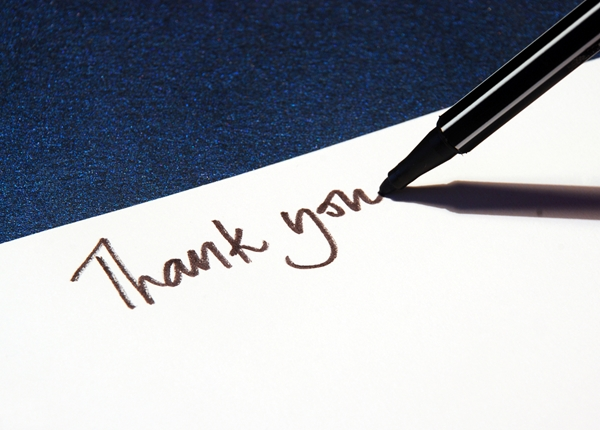 A guide to a professional thank you note - CardsDirect Blog