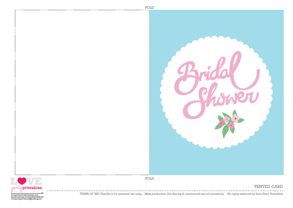 Bridal Shower Invitations Free Printable Bridal Shower Invitations