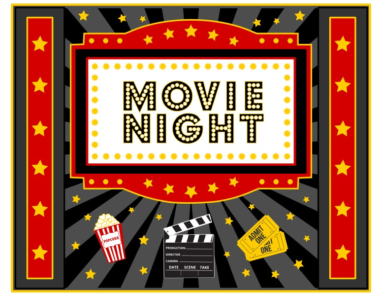 FREE Movie Night Party Printables by Printabelle Catch My Party - movie invitation template free