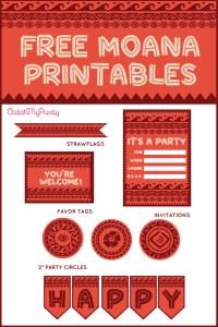 Free Disney Moana Printables For Birthday Parties | Catch ...