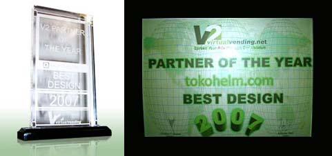 Best Design Partner of The Year 2007 V2 Virtual Vending