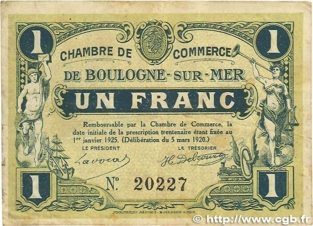 50 French Chamber of Commerce Notes online !