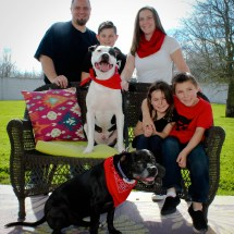 Hank with his forever family!
