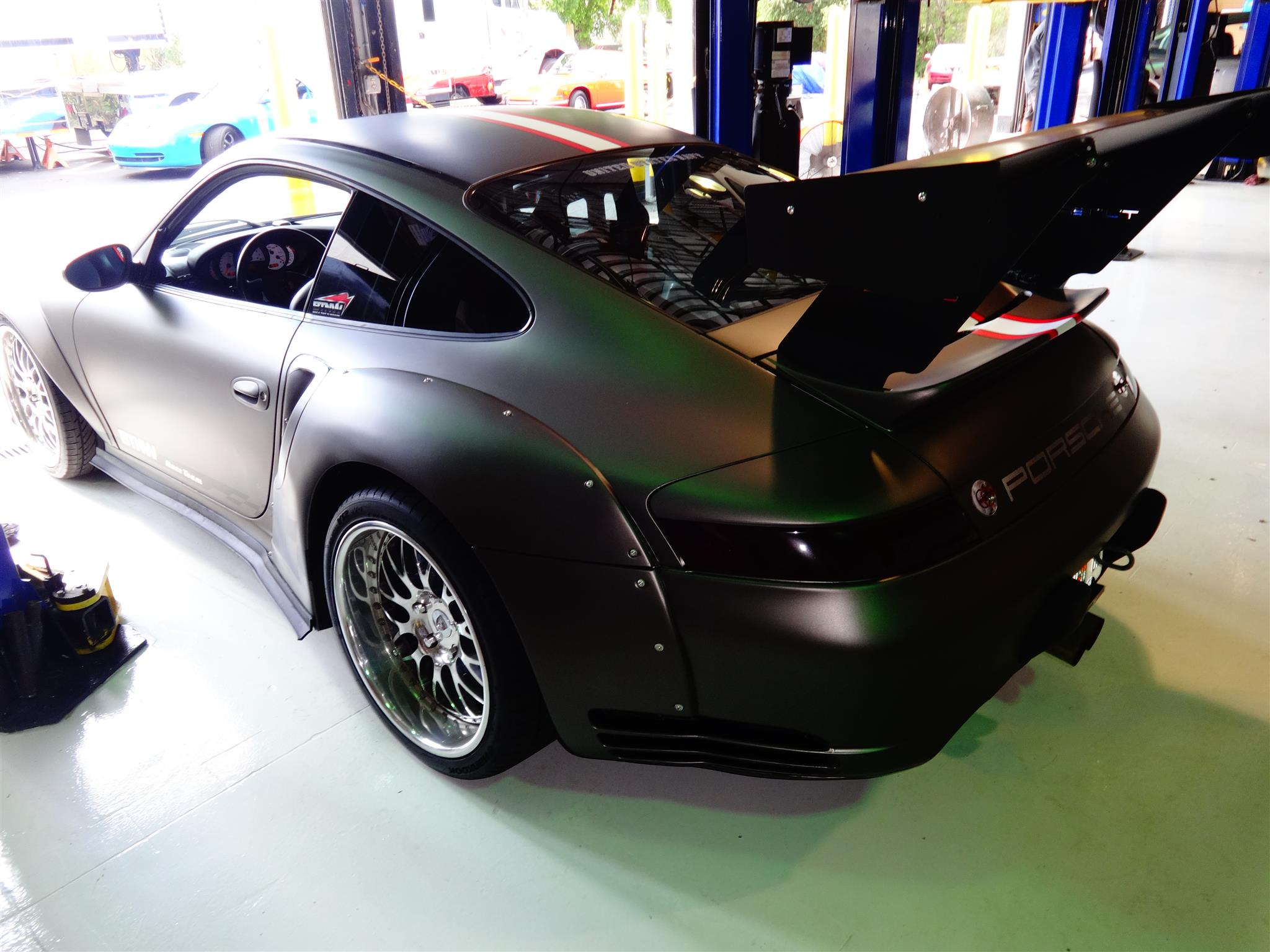 Air Ride Delete Kit Modified Porsche 911 Turbo By Tuners Motorsports