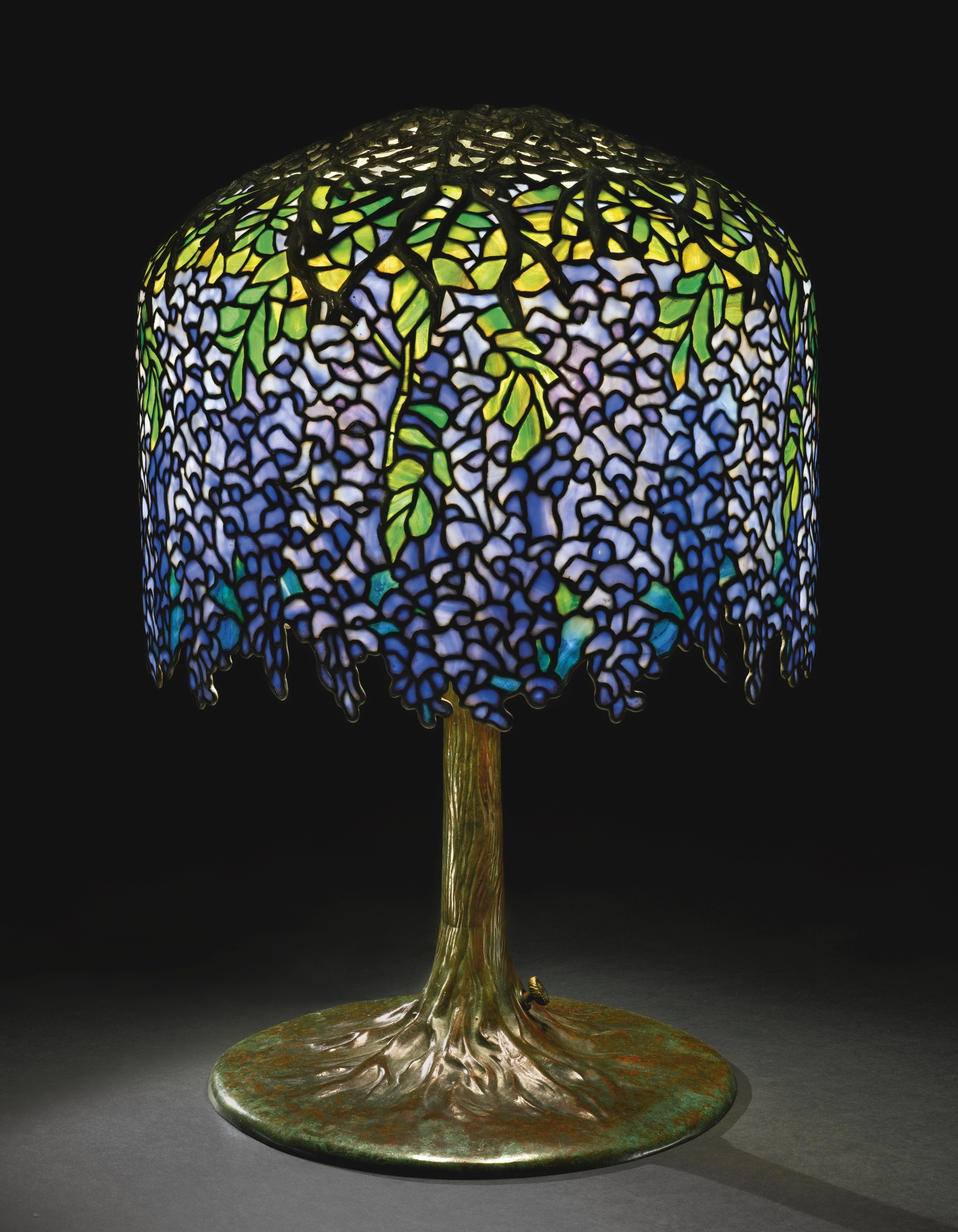 Tiffany Lampen Tischleuchte Sothebys New York Sells A Tiffany Studios Wisteria Table