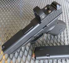 Glock G19 MOS with Delta Point red dot sight