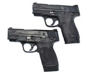 Smith and Wesson Shield pistols left profile