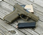 Glock 17 9mm pistol right profile