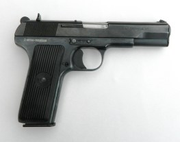 Tokarev pistol, right profile