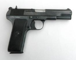 Tokarev pistol, right profile