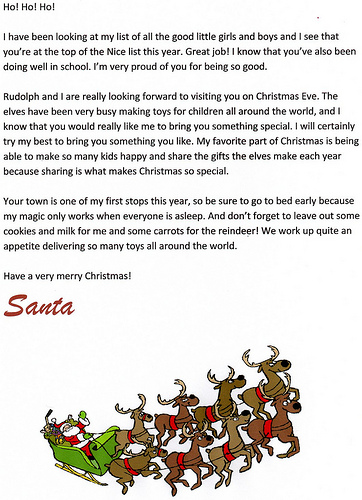 Free Printable Santa Letter Downloads - Christmas Letter Tips