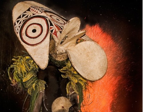 Bainings Fire Dance, Papua New Guinea. Taro Taylor.