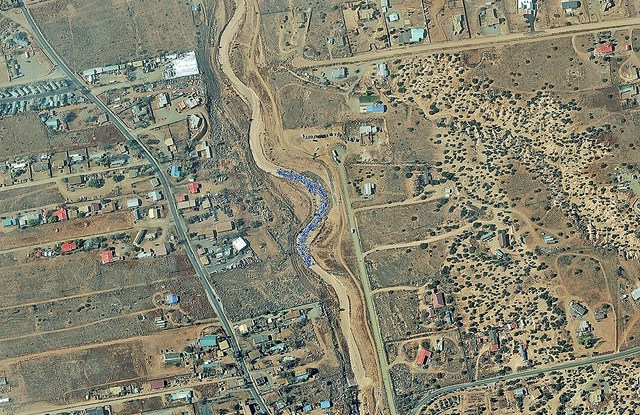 Satellite Image. Digital Globe
