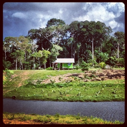 "A house in the Priority Assistance Zone - a ""no-man's land"" in terms of formal property rights. Kate Evans/CIFOR"