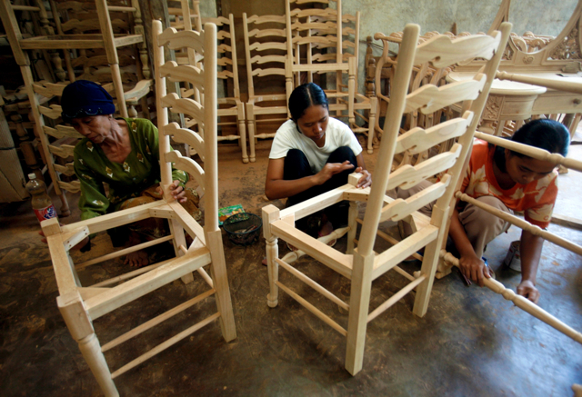 Furniture Value Chains Center For International Forestry Research
