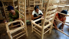 Carving a place for women's rights in Indonesia's furniture trade