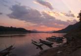 Jason Devitt Mekong Sunset  Sunset over the Mekong River, near Luang Prabang, Laos.