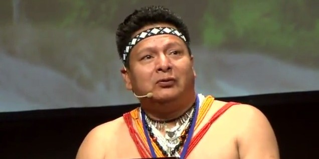 "Cándido Mezúa Salazar, Chairman of the National Coordinator of Indigenous Peoples of Panama: ""all the global programs should respect the rights of indigenous peoples."""