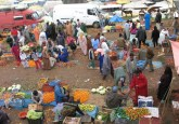 Moroccan open air market. Bronwen Powell photo.