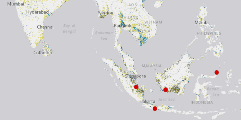 The interactive Global Wetlands Map charts wetlands, histosols and carbon stocks around the world.