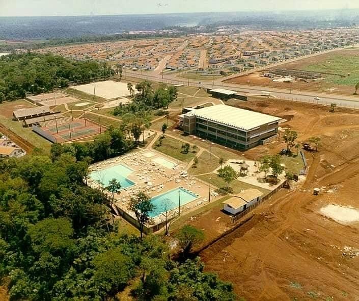 Floresta Clube na Vila A. Foto: Arquivos da Internet.