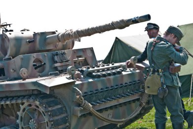 Blyth Battery - Panzer III front