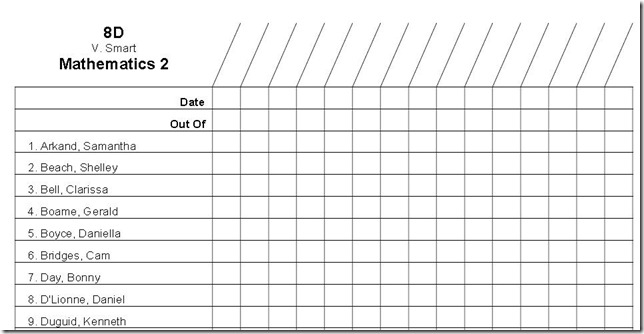 Doc#457300 Free Roster Template u2013 Download a free staff roster - training roster template