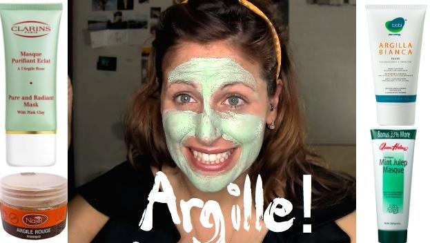 c- Argilla per una pelle che brilla: tipologie, usi, ricette